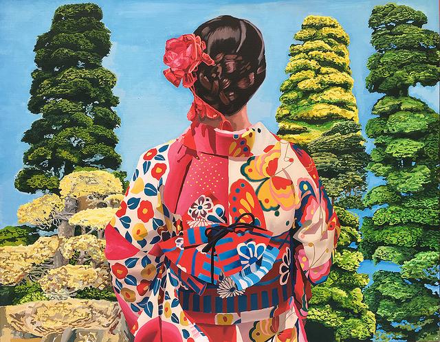 , 'Japonesa Roja,' 2017, Victor Lope Arte Contemporaneo