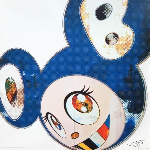 Takashi Murakami, 'And Then 3000 Blue', 2013, Dope! Gallery