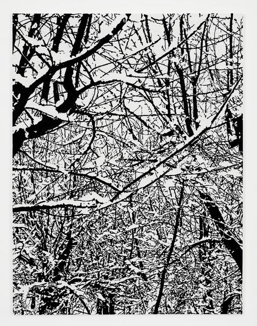 , 'SNOW FOREST 002A,' 2017, Perrotin