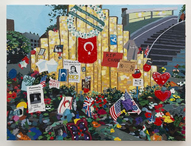 , 'Memorial,' 2016, Joshua Liner Gallery