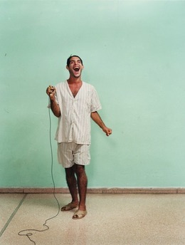 , 'Self-portrait by Oreste, Ren Vallejo Psychiatric Hospital, Cuba,' 2003, Paradise Row
