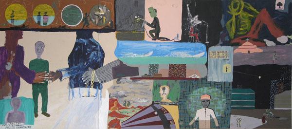 Reginald K Gee, 'Jack of Clubs', 1997, David Barnett Gallery