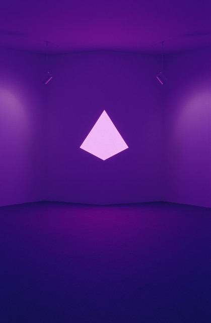 James Turrell, 'Raethro II, Magenta (Corner Shallow Space)', 1970, Other, MASS MoCA