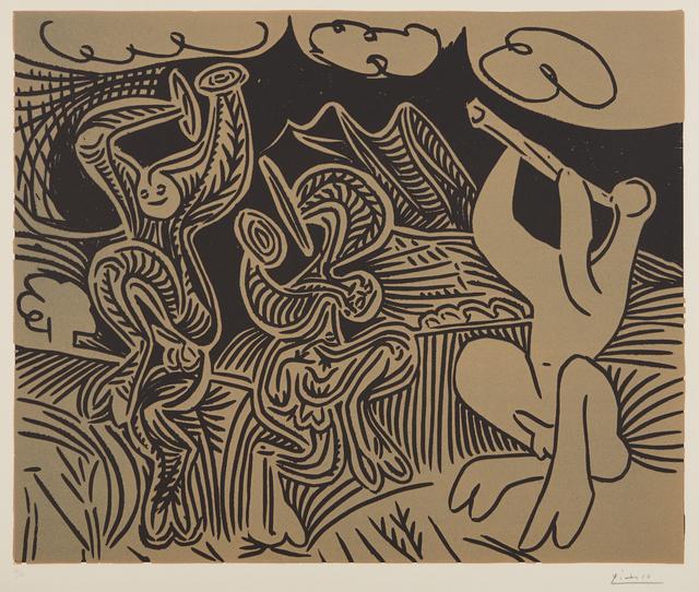 Pablo Picasso, 'Danseurs et Musicien (Dancers and Musician)', 1959, Phillips