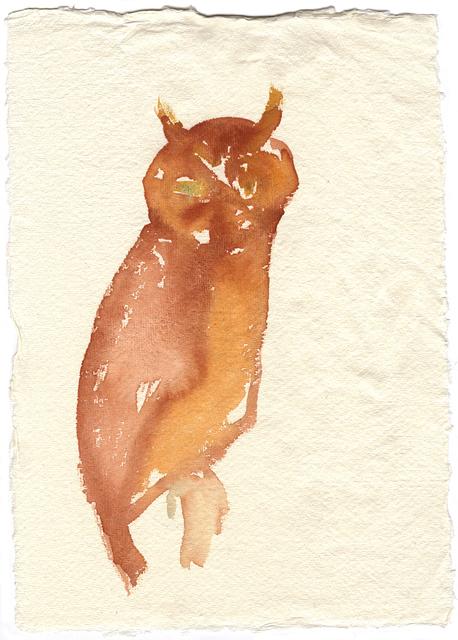 , 'Mountain Owl,' 2016, Whitechapel Gallery