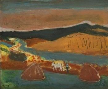 , 'Tilliers from Lyons-la-Foret,' , Jenna Burlingham Fine Art