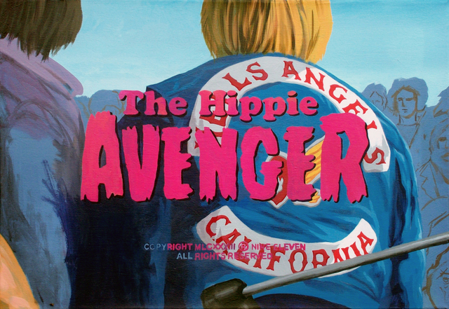 , 'THE HIPPIE AVENGER,' 2016, EL MIRADOR ESPACIO