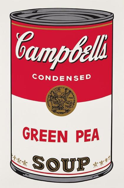 Andy Warhol, 'Green Pea Campbell's Soup', 1968, OSME Fine Art