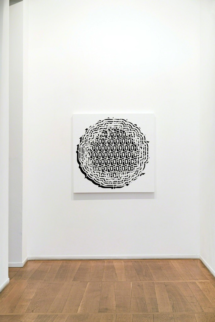 "Exhibition view, Pablo Siquier ""Bruit"", Galerie Xippas, Paris, 2017