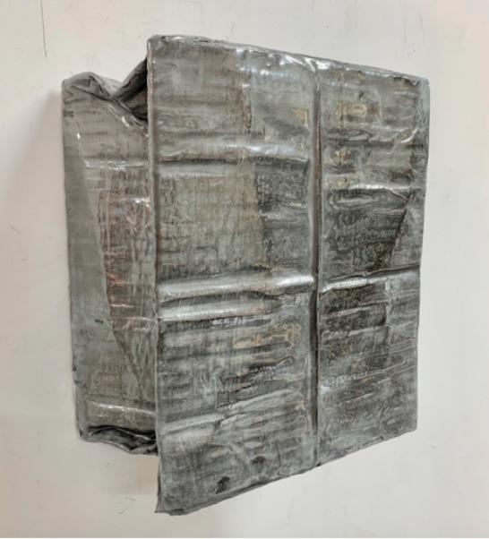 , 'Backbone (silver),' 2019, West End Art Space