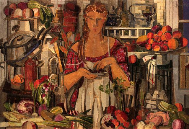 , 'Cherry Kernel,' 2014, Albemarle Gallery   Pontone Gallery