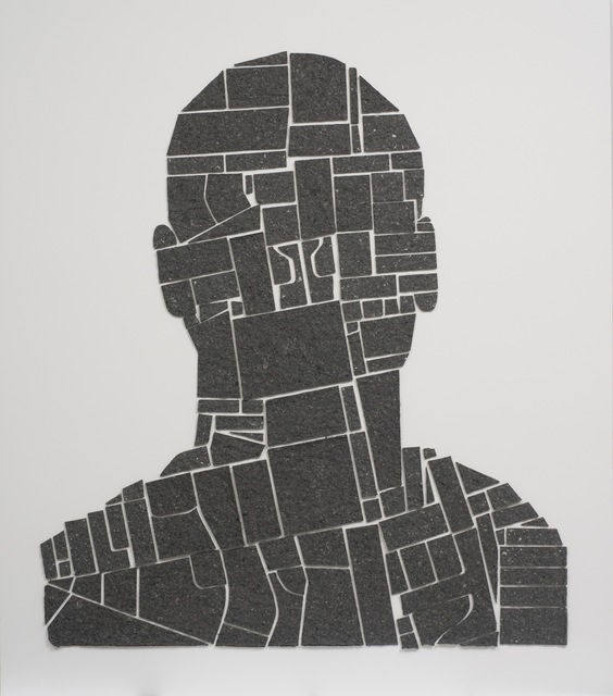 , 'Juan (4 Maps),' 2010, Reynolds Gallery