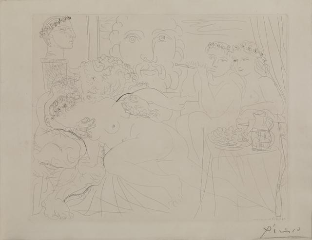 Pablo Picasso, 'Minotaure Caressant Une Femme', 1939, Print, Acquaforte acquatinta, Itineris