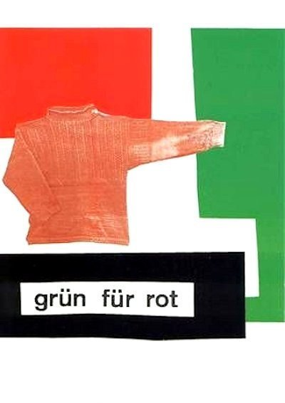 Rosemarie Trockel, 'grün für rot', 1980-1990, ARTEDIO