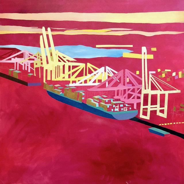 , 'Port,' , Miller Gallery Charleston