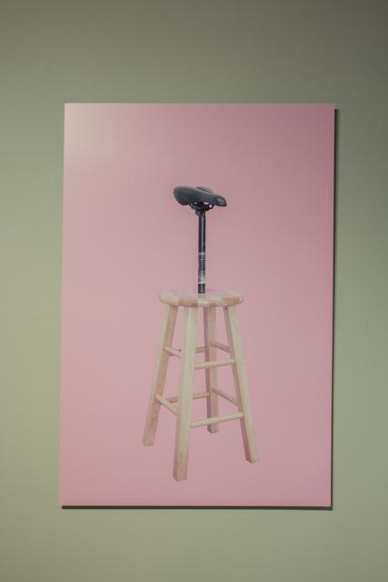 , 'Seated Saddle On Stool (SSS),' 2014, Pablo Cardoza Gallery