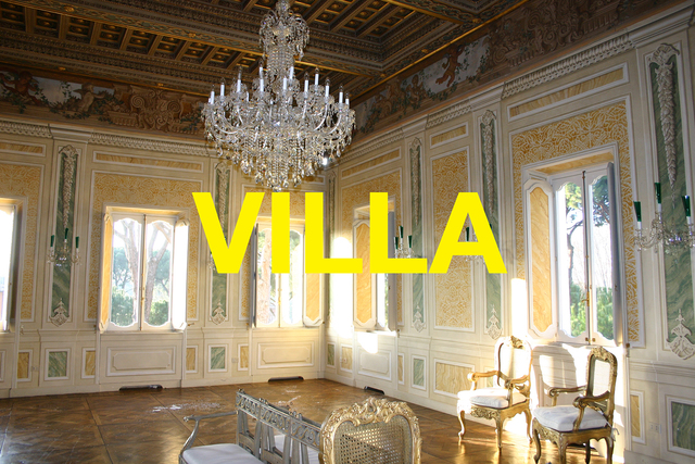 , 'Words: VILLA,' 2003/2017, Ruiz-Healy Art