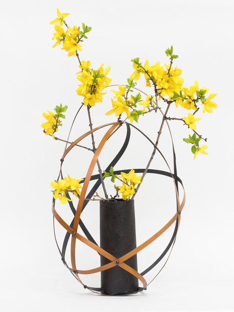 Jiro Yonezawa, 'Flower Basket (Collaboration with Daniel Niles)', 2018, Patrick Parrish Gallery