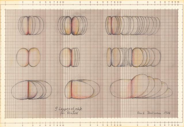, '9 Lappenobjekte für Reinhold (9 Lobe objects for Reinhold),' 1976, Richard Saltoun