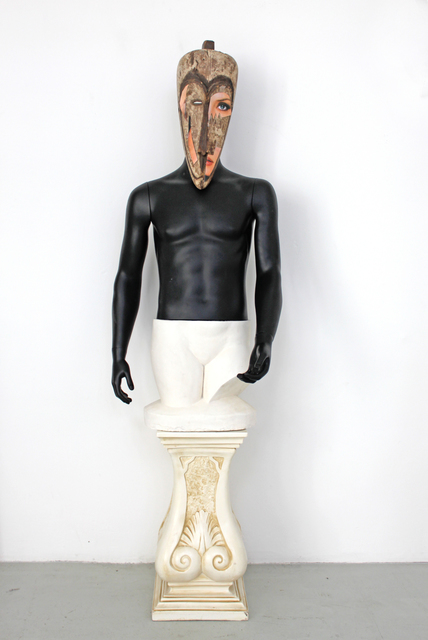 , 'Art syncrétique, 1964, sculpture génétique culturelle 1984, en remake 2011,' 2011, Nadja Vilenne