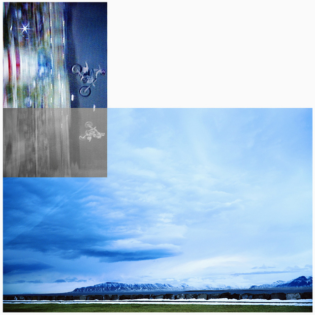 John Baldessari, 'Double Motorcyclists and Landscape (Icelandic)', 2003, Kenneth A. Friedman & Co.