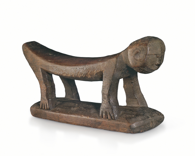 , 'Korwar Headrest collected by Jacques Viot 1929,' 19th century or earlier, Galerie Meyer Oceanic Art