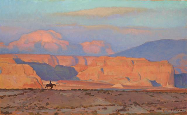"Glenn Dean, '""Mesa Rider""', 2015, Painting, Oil, Maxwell Alexander Gallery"