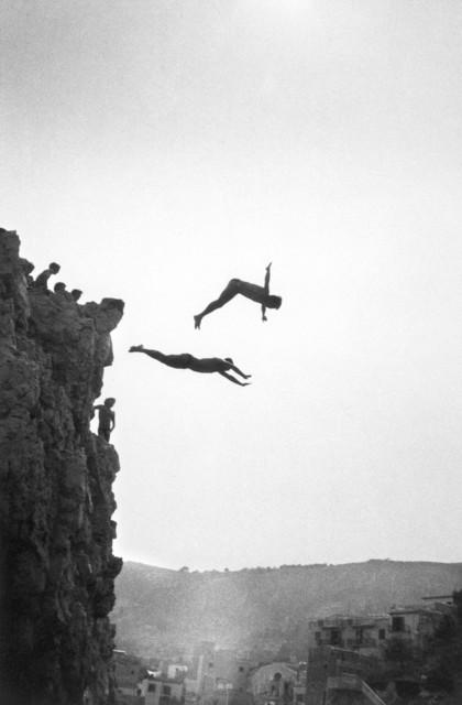 Ferdinando Scianna, 'ITALY. Sicily. Sant'Elia: Divers.', 1982, Magnum Photos