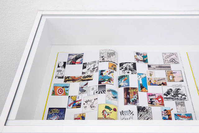 , 'View at graphic score TO BE CONTINUED,' 2016, Kunstraum Innsbruck