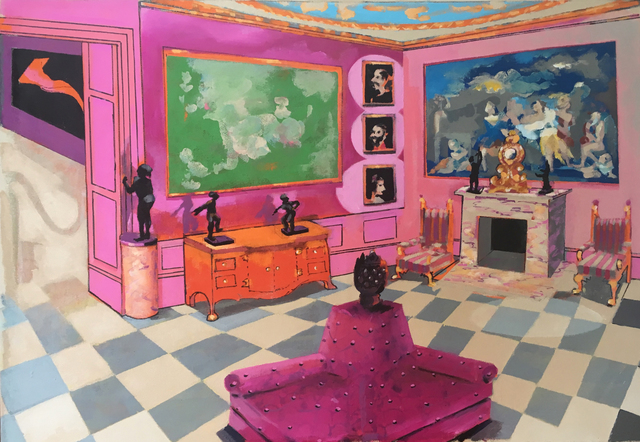 , 'The Museum of the Boudoir, Manchester Square,' 2017, Candida Stevens Gallery