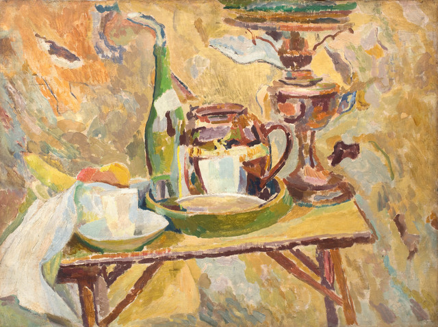 Duncan Grant, 'The Coffee Table, Asheham', 1914, Piano Nobile