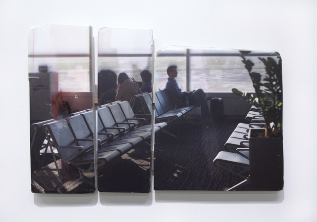 , 'Airport, Morning,' 2015, Magenta Plains