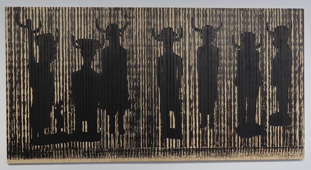 , 'Code noir 4,' 2018, Richard Taittinger Gallery