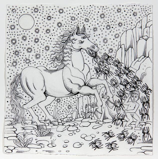 , 'Trojan Horse,' 2016, Michel Soskine Inc.