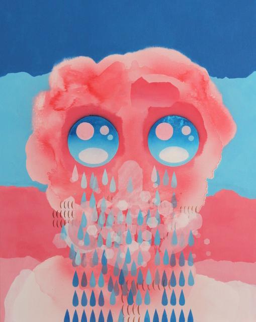 , 'Self-portrait with blue eyes,' 2019, 99 Loop Gallery