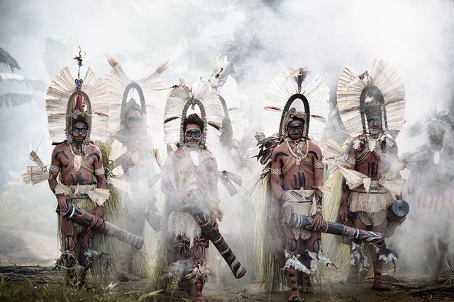 , 'XXXIII 23, Kundu dancers, Mount Bosavi, Papua New Guinea,' 2017, Atlas Gallery