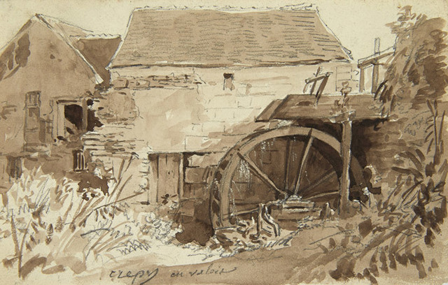 , 'La Ferme,' ca. 1850, James Hyman Gallery