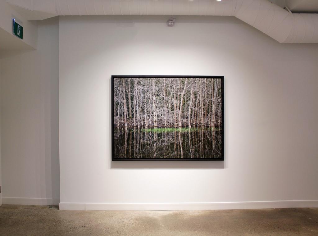 Edward Burtynsky installation view at Nicholas Metivier Gallery, Toronto.