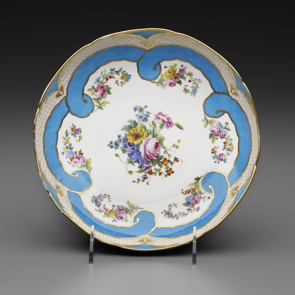Sèvres Porcelain Manufactory, 'Two Round Fruit Dishes (Part of a Dessert Service)', 1782, The Frick Collection
