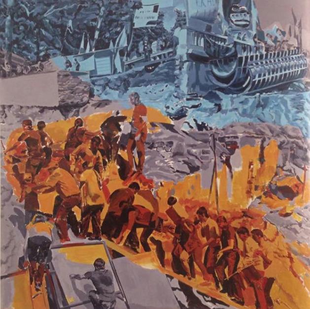 , 'Sismik Hareketler / Seismic Movements,' 2014, Galeri Miz