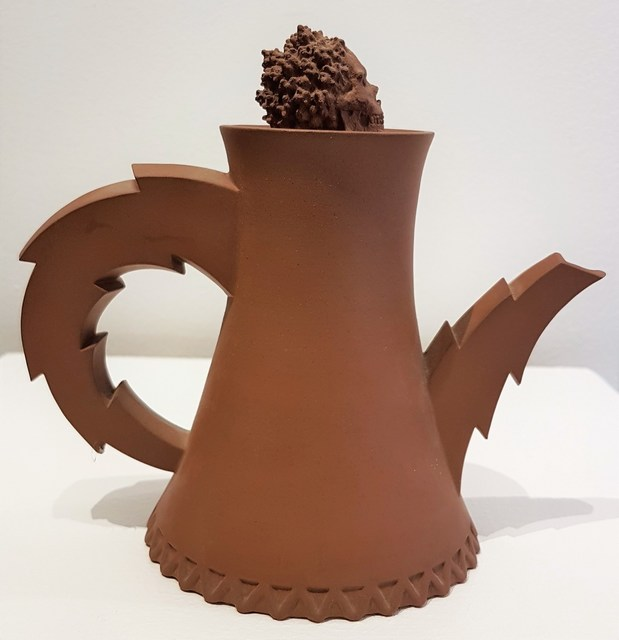 Richard Notkin, 'Cooling Tower Teapot #II', 1984, Cerbera Gallery