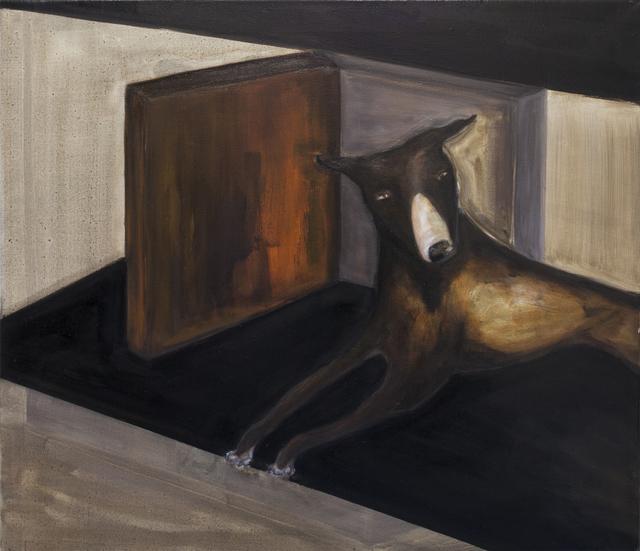, 'Dog lying (orange and brown),' 2017, Galerie Bart