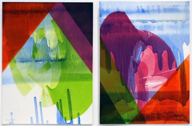 , '72187 (diptych),' 1987, David Richard Gallery