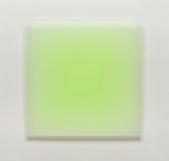 , 'Green Square,' 2012, McClain Gallery