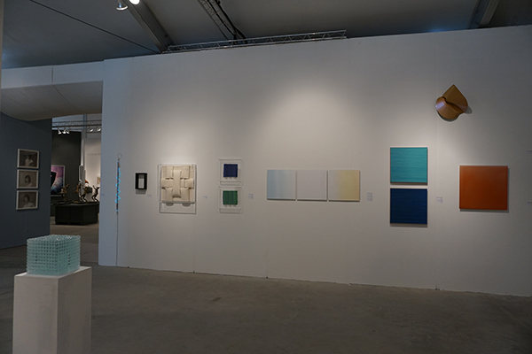Booth view: Galerie Renate Bender - Booth #A329 at Art Miami Art Fair 2017