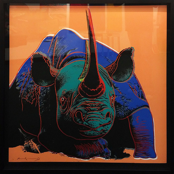 Andy Warhol, 'ENDANGERED SPECIES: BLACK RHINO FS 11.301 BY ANDY WARHOL', 1983, Marcel Katz Art