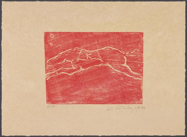 , 'K,' 2004, Gemini G.E.L. at Joni Moisant Weyl
