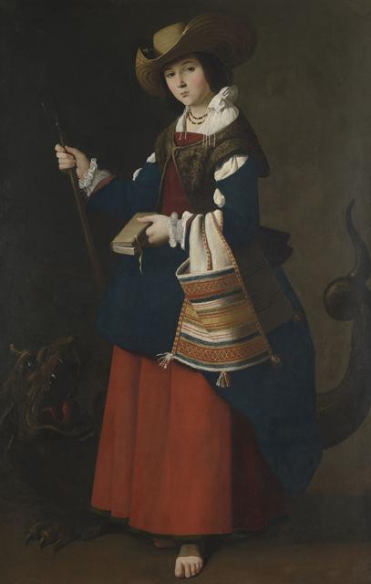 , 'Heilige Margareta von Antiochien,' 1630-1634, Gemäldegalerie Alte Meister