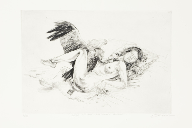 , 'Birth of a Nation: Leda and the White-Backed Vulture,' 2009, David Krut Projects