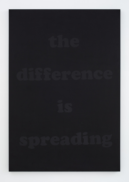 , 'the difference is spreading,' 2015, MIER GALLERY